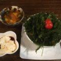 子連れでfuu cafe(ふぅカフェ)でランチ 一番のおすすめメニューは「海ぶどうとアグー豚の丼仕立て」